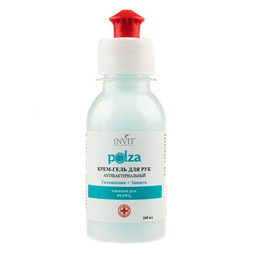 Polza Крем-гель для рук антибактериальный Увлажнение+Защита