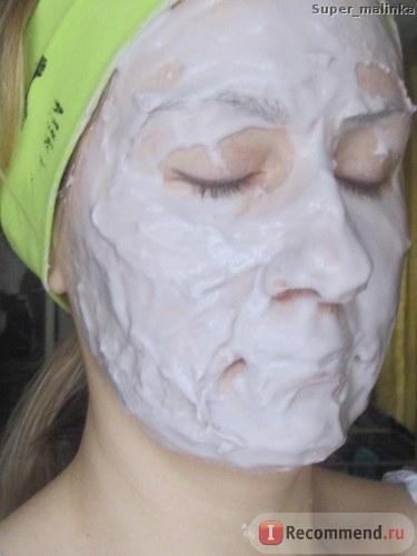 """Альгинатная маска для лица Teana """"Морской бриз"""" антикуперозная успокаивающая, с черникой, витамином С и миоксинолом фото"""